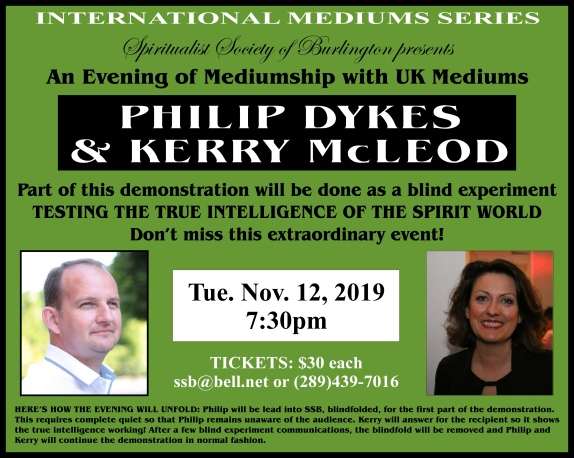 Phil & Kerry dem Nov 2019
