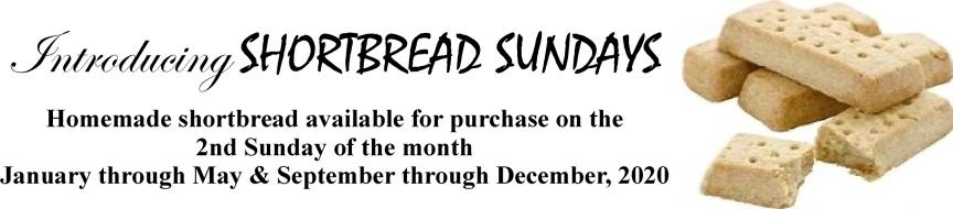 Shortbread Sundays